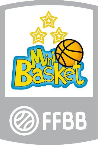 Logo mini-basket 3 étoiles